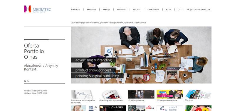 Realizacja - Agencja reklamowa Mediatec